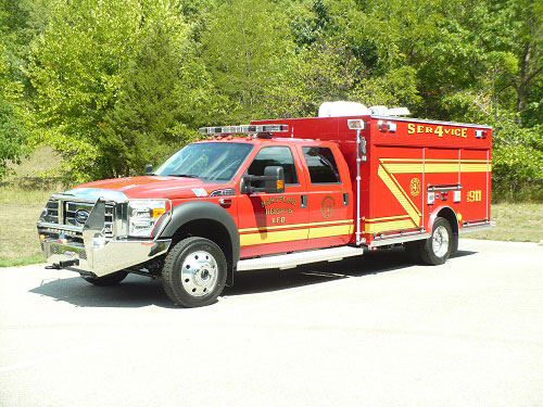 Precision Fire Apparatus Hartford Heights Rescue