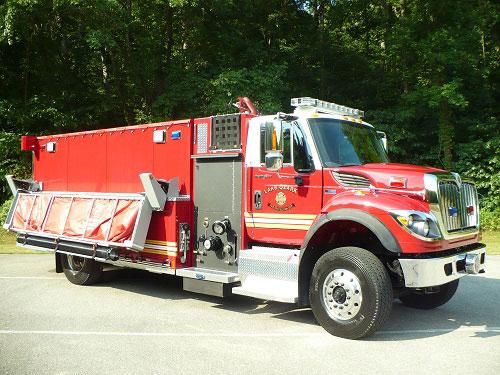 Precision Fire Apparatus Lake Ozark Tanker