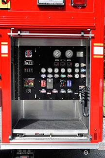 Precision Fire Apparatus Nolensville Rear Mounted Pumper