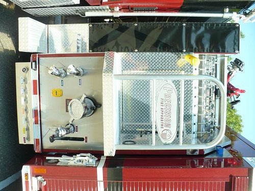 Precision Fire Apparatus Plattsburg Tanker