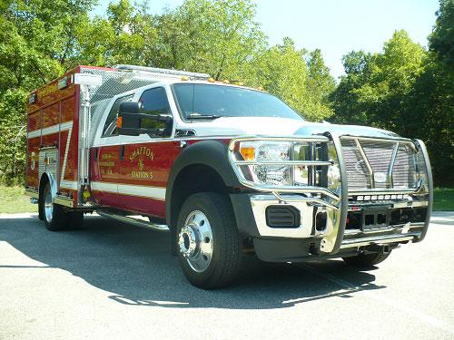 Precision Fire Apparatus Shafton Rescue