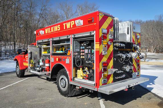 Precision Fire Apparatus Wilkins Twp Ford F554 4x4