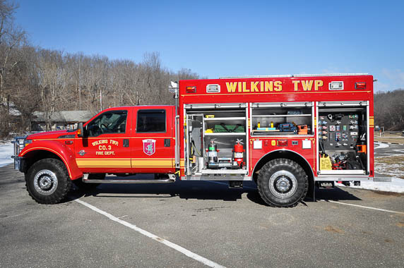 Precision Fire Apparatus Wilkins Twp Ford F554 4x4