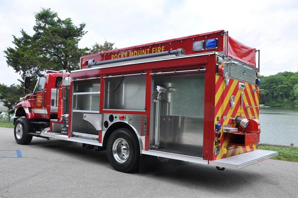 Precision Fire Apparatus Rocky Mount Fpd