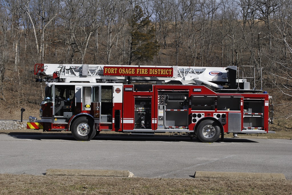 Precision Fire Apparatus Fort Osage 75 Quint