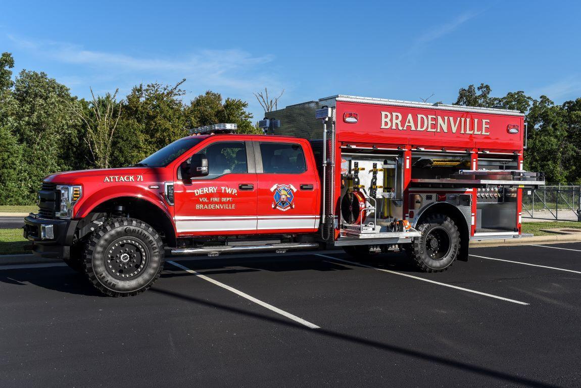 Precision Fire Apparatus Bradenville Ford F554 4x4
