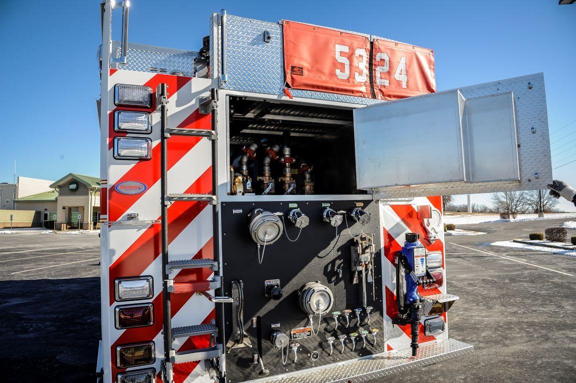 Precision Fire Apparatus Antonia Fire Protection