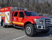 Wilkins TWP - Ford F554 4x4 Quick Attack Mini Pumper